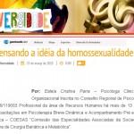 REPENSANDO A HOMOSSEXUALIDADE (Blog Diversidade – Gazeta Web)